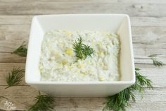 Easy Vegan Tzatziki - Lace and Coco