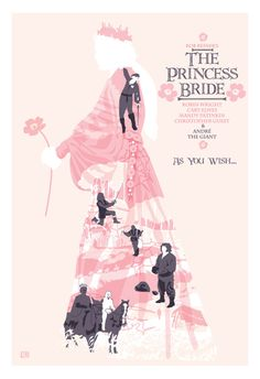 """The Princess Bride (1987)  Inspired Movie Poster """"As You Wish"""", 2013. on Etsy, $25.00"""