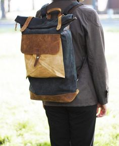 Send Him Ng In The Best Possible Way Etsyfinds Canvas Backpack Rucksack