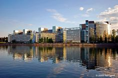 REF: Reflection | nokia headquarters in keilaniemi Helsinki