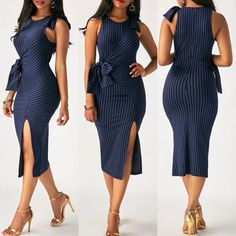 Pin by ruth-nissi pedaya on stylisme-modélisme in 2019 vestidos de moda, ve Latest African Fashion Dresses, African Print Fashion, Women's Fashion Dresses, Sexy Dresses, Cute Dresses, Dress Outfits, Casual Dresses, Short Dresses, African Attire
