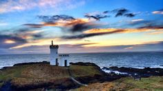 Elie lighthouse at Ruby Bay in Fife. Taken by Helen Bishop of St Monans, who was particularly taken with the clouds.