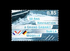 50 Years of Large-Vessel Shipping on the Moselle Issued by Luxembourg Post #stamps #luxembourg http://wopa-stamps.com/index.php?controller=country&action=stampRelatedIssue&id=12414