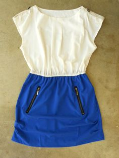 Love this dress! I want this same style dress in many different colors! One for every day of the week haha!!