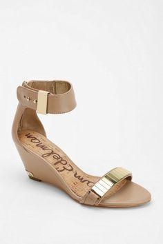 Sam Edelman Serena Metal Plate Wedge Sandal