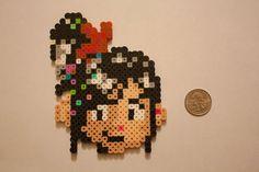 Vanellope Perler Bead by MouseySaysRawr