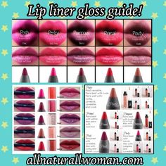 Smudge proof lip liners Lipstains and more! #lips #lipgloss #lipstains #younique #mineralmakeup #natural
