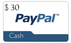 Free Online Sweepstakes: Enter to Win $30 PayPal Cash