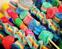 Rainbow Dum Dum Gum Ball Candy Land by HollywoodCandyGirls on Etsy
