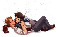 I DONT EVEN SHIP DESTIEL<<<< Everyone ships it, even if they don't know it yet