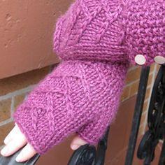 Tree of Life Wristlets by The Fibre Company #Knitting