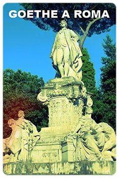 VERTER E CARLOTTA -- Luigi Speranza -- Statua di Goethe a Roma