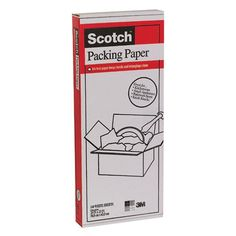 3M White Scotch Packing Paper * Ink free packing paper * Keeps hands and belongings clean * Great for kitchenware #hometools #homeequipment #homedepot #houseneeds #tool #tools #drill #toolboxes #circularsaw #woodworkingtools #cordlessdrill #boschtools #woodcarvingtools #powertools #powerdrill #gardentools #toolsforsale #hitachitools #sktools #drills # gardeningtools #toolset #electricimpactwrench #prototools #toolsets #handtools #handdrill #airtools #electricdrill #plumbingtools…
