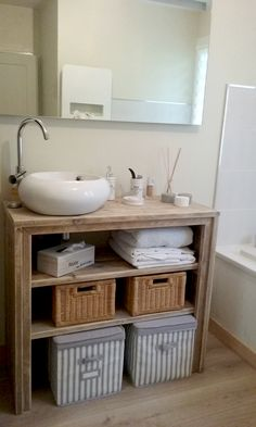 1000 images about meubles salle de bain on pinterest. Black Bedroom Furniture Sets. Home Design Ideas