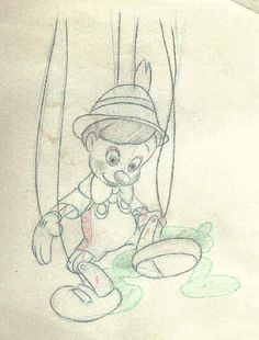 Pinocchio || CHARACTER DESIGN REFERENCES |