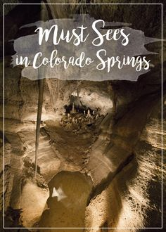 Must Sees in Colorado Springs | Cave Diving | Nicole Travels
