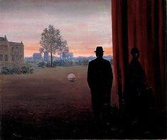A La Rencontre Du Plaisir 1950 Magritte