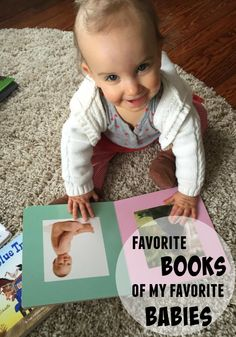 Favorite books for ages 1-4.