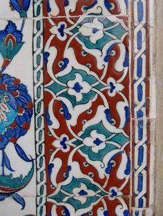 Hagia Sophia Istanbul, Antique Tiles, Oriental, Pottery, Kids Rugs, Colours, Ceramics, Antiques, Painting