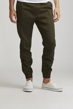Twill Jogger - Seize & Desist - Joggers : JackThreads