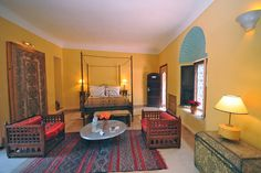 Moroccan shabby chic & very boutique... Beldi Country Club, boutique hotel, Marrakech, Morocco