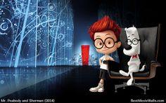 Mr. Peabody and Sherman wallpaper