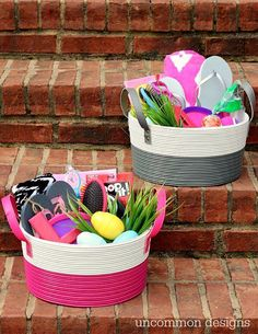 Easter basket ideas for teenage girls gift ideas pinterest 75 unique diy easter basket ideas to add a touch of warmth to your celebrations negle Images
