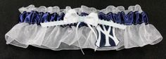 A personal favorite from my Etsy shop https://www.etsy.com/listing/86407654/new-york-yankees-baseball-wedding-bridal