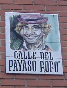 Calle del payaso Fofó
