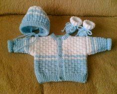 ruční práce,pletení Knitting Patterns Uk, Knitting Stitches, Baby Patterns, Crochet Baby Dress Pattern, Baby Makes, Baby Wearing, Kids And Parenting, Free Pattern, Barn