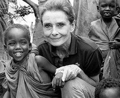 """As you grow older, you will discover that you have two hands, one for helping yourself, the other for helping others."" - Audrey Hepburn"