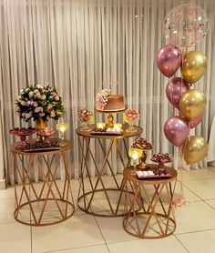 Balloon Decorations, Birthday Party Decorations, Wedding Decorations, Table Decorations, Deco Buffet, Deco Table, Adult Birthday Party, 21st Birthday, Gold Bridal Showers