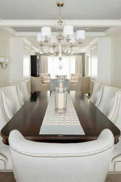 dining room inspiration | elegant dining room, elegant dining and
