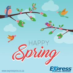Warmer weather is on its way! Happy Spring! #Spring