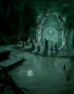 The Fellowship at Moria