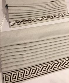 Getting ready for another install. Can\'t wait to see these elegant roman shades installed on our client\'s bay window! #romanshades #customdrapes #interiorstyling #decor #windowcoverings