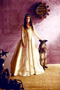 #2 BTS of Reign shoot with Adelaide Kane