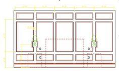 Rambling Renovators DIY panel wall