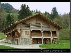ferme chalet TYPIQUE DE Haute SAVOIE FRANCE