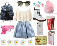 """summer fest/fair"" by elliehuts ❤ liked on Polyvore"
