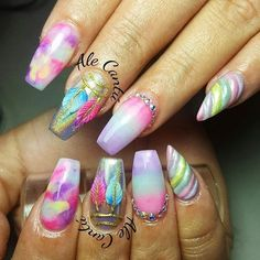 10 Unicorn Nails That Are Truly Magical | Brit + Co
