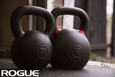 Rogue Kettlebells range from 9-203LBS. Link in bio. #ryourogue