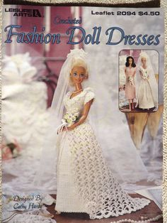 Crochet Fashion Doll Dresses Patterns