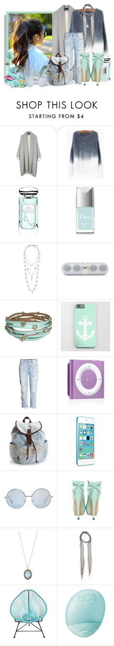 """""""Winter sunny days..."""" by athenamtz ❤ liked on Polyvore featuring By Terry, Christian Dior, Lucky Brand, Lipsy, Aéropostale, Armenta, Chan Luu, Innit, Eos and KORA Organics by Miranda Kerr"""