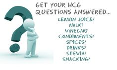 Here's a good site that explains all of the 'weird' things for the HCG diet... I didn't know about the spices! www.diyhcg.com