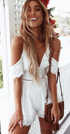 being a gypsy girl: cut-out shoulder romper