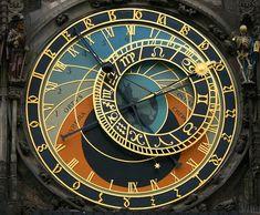Constellations, Prague Astronomical Clock, Prague Clock, Prague 1, Yi King, Medieval, Mechanical Clock, Prague Czech Republic, Tatoo