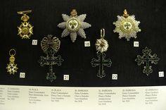 Insignias Monarquicas - Museu Histórico Nacional - Rio de Janeiro