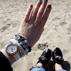 #bracelet #shoes #massimodutti #accessories #nails #unlimited #watch #tissot #handmade #handmadejewelry #jewelry #jewellery #jewelrydesigner #jewellerydesign #jewels #details #design #style #edtaccessories #stone #beads #fashionista #fashion #fashionblogger #spring #summer #sparkle #sea #lithuania