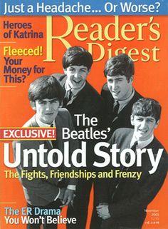 Reader's Digest front cover, November 2005